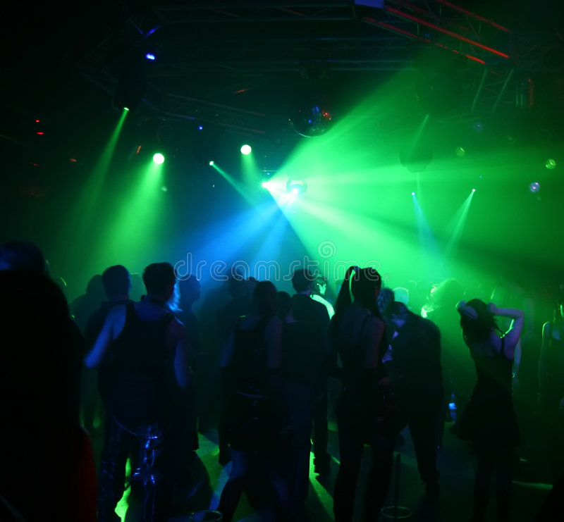Dancing teenagers royalty free stock photos