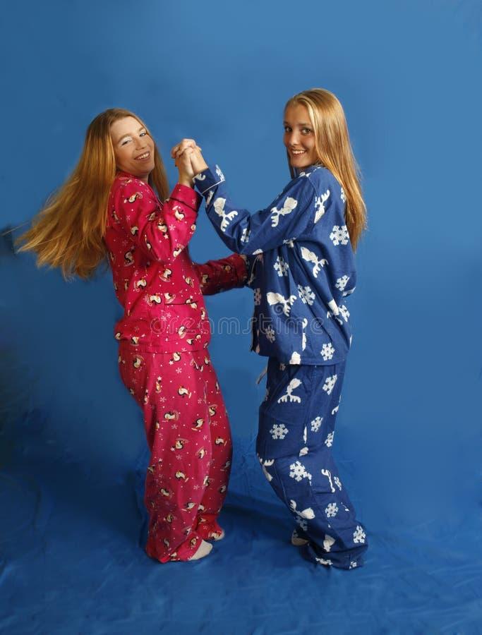 Download Dancing teens stock photo. Image of people, pajamas, happiness - 3282992