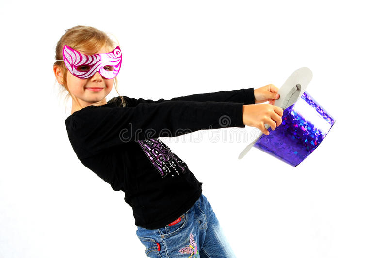 Dancing With A Topper Stock Photography