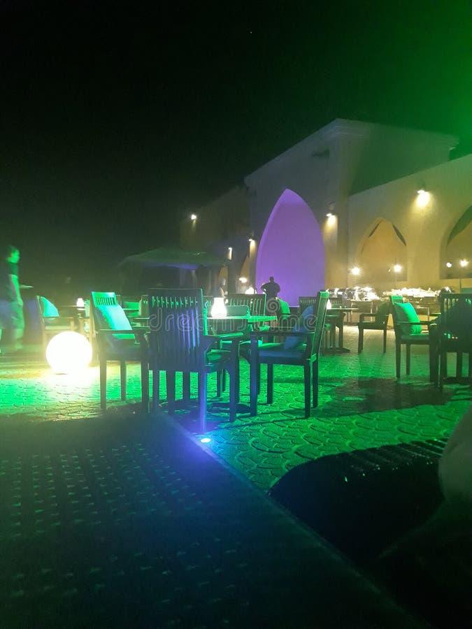 Dancing views. Abu dancing views hotel bellydancing royalty free stock images