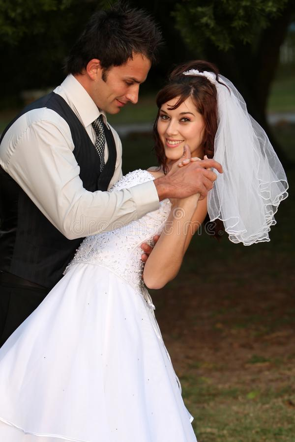 Download Dancing Wedding Couple stock image. Image of beauty, engagement - 12021205