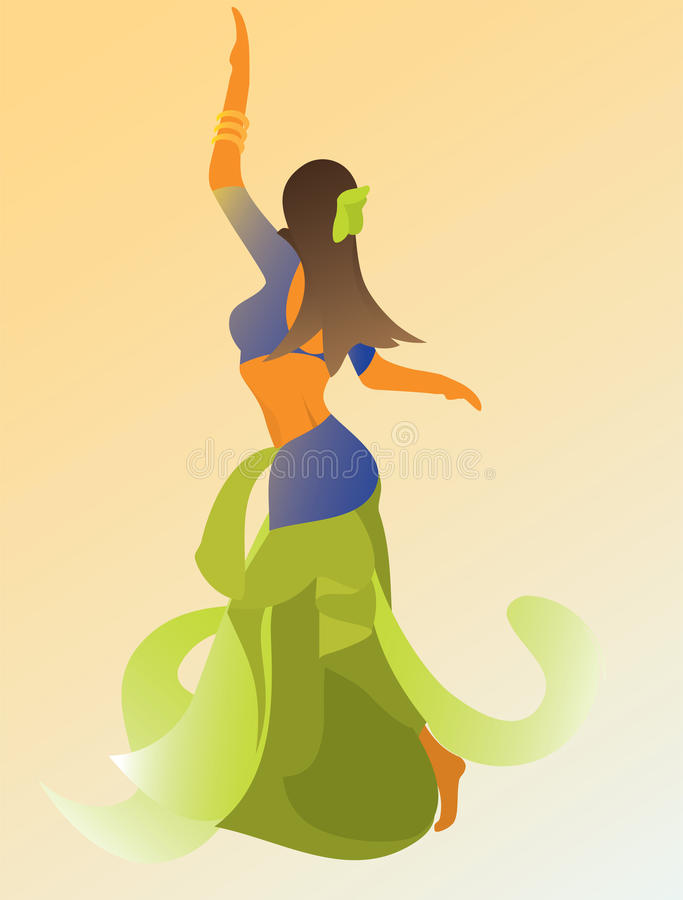 Free Dancing Woman Stock Photography - 16613172