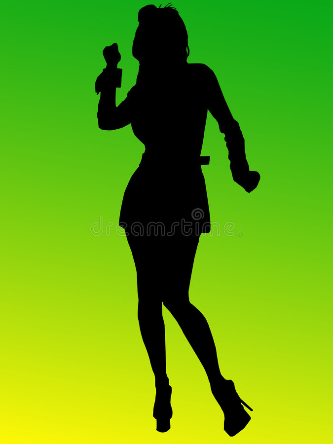 Free Dancing Woman Royalty Free Stock Images - 4873999