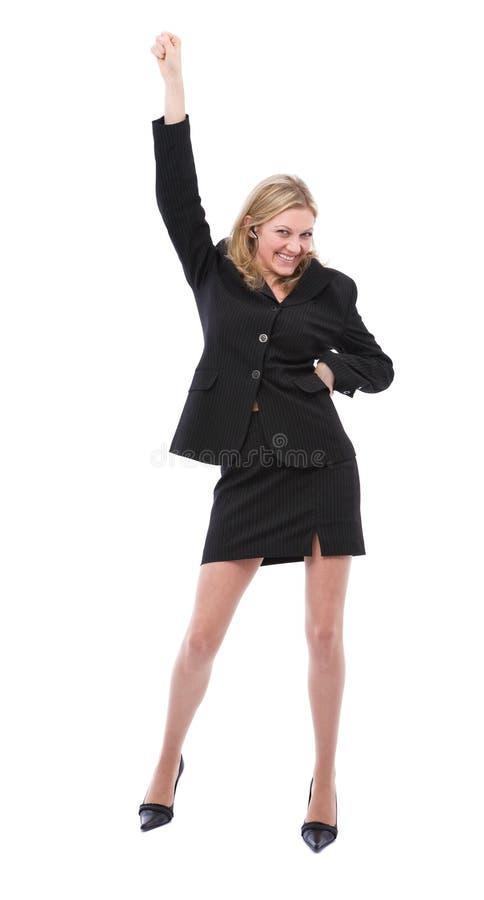 Dancing woman stock photos