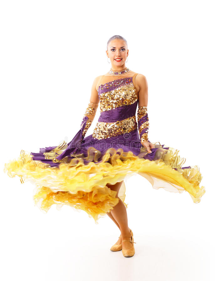 Dancing woman beauty royalty free stock photos