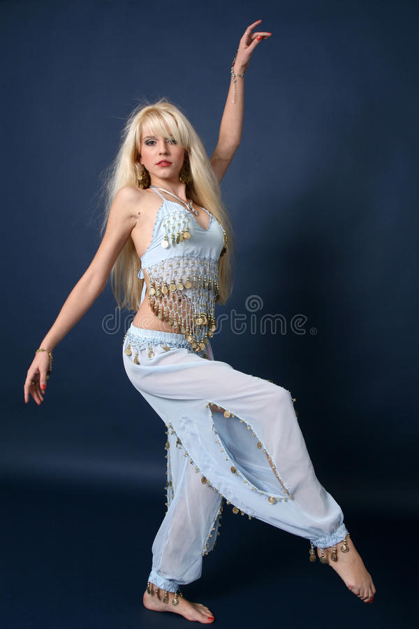 Free Dancing Young Girl 3 Royalty Free Stock Image - 14441176