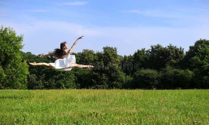 Dancingowa balerina zdjęcia stock