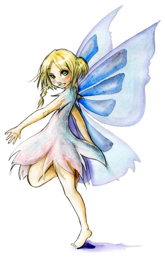 dancingowa czarodziejka royalty ilustracja