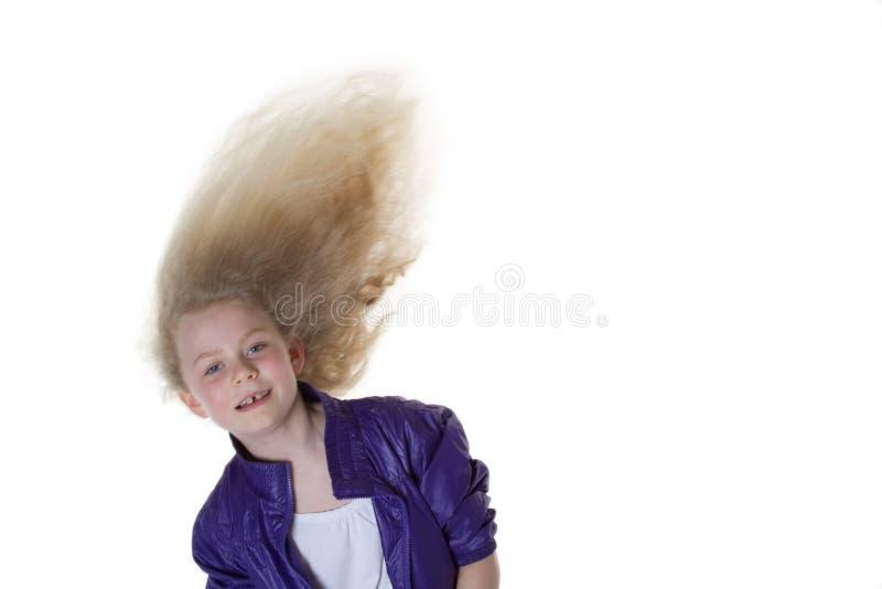 Dancingowa dziewczyna fotografia stock