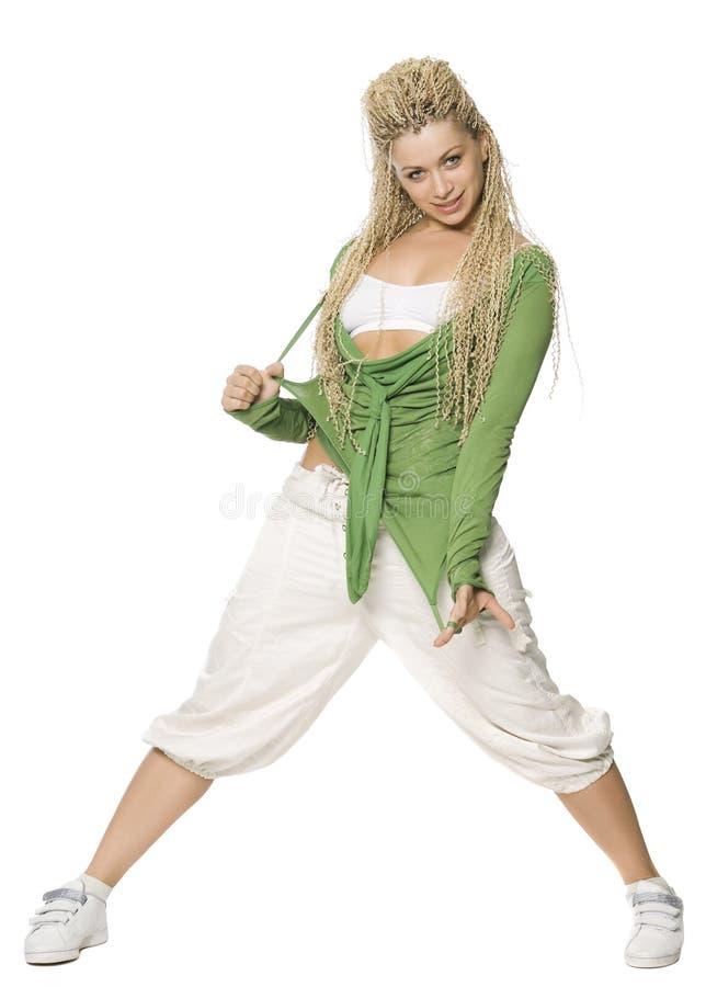 dancingowa dziewczyna fotografia royalty free