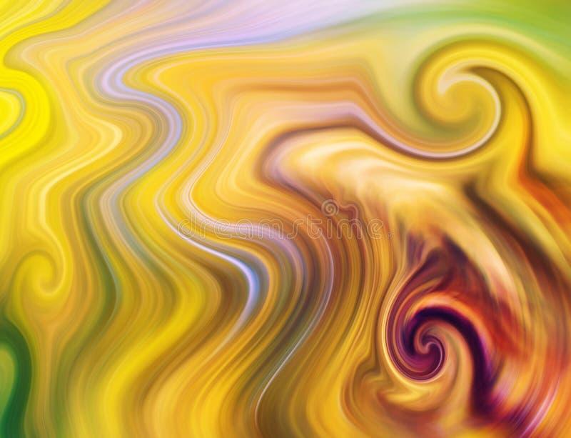 Dancingowa energia macha tła pojęcie ilustracji