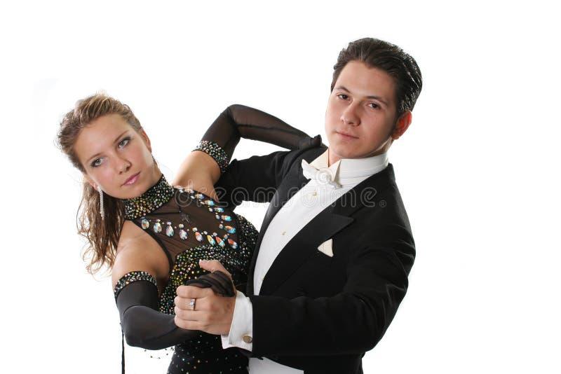 Dancingowa para obraz stock