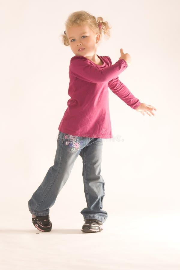 dancingowe dziewczyny zdjęcie royalty free