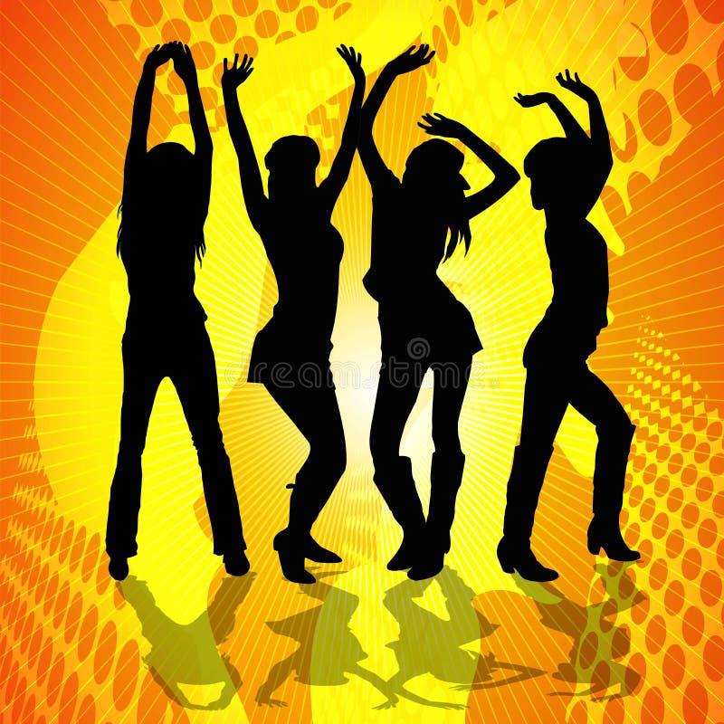 Dancingowe Kobiety ilustracji