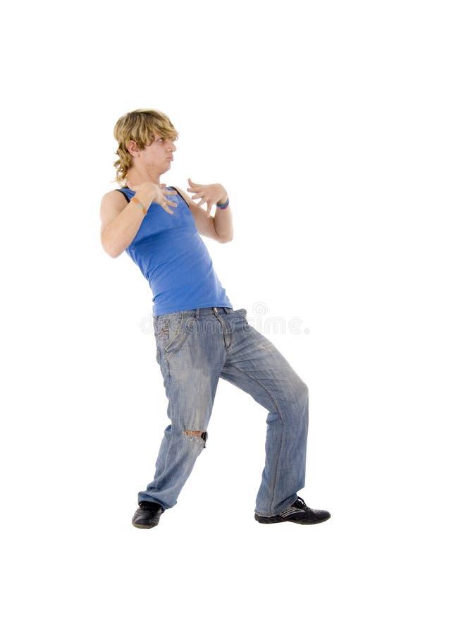 dancingowego mężczyzna nowożytni potomstwa fotografia royalty free