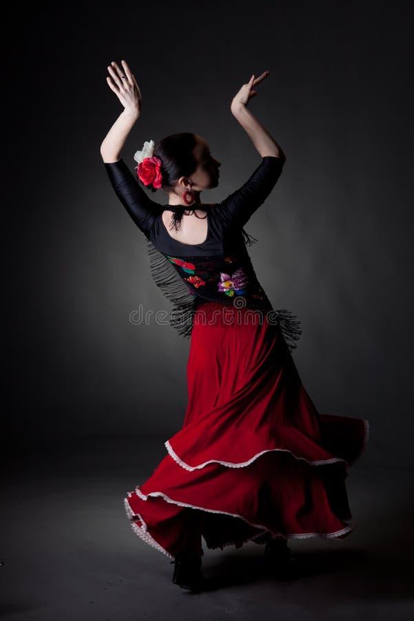 dancingowi flamenco kobiety potomstwa obrazy royalty free