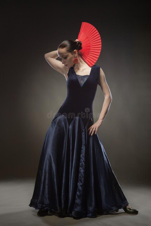 dancingowi flamenco kobiety potomstwa obraz royalty free