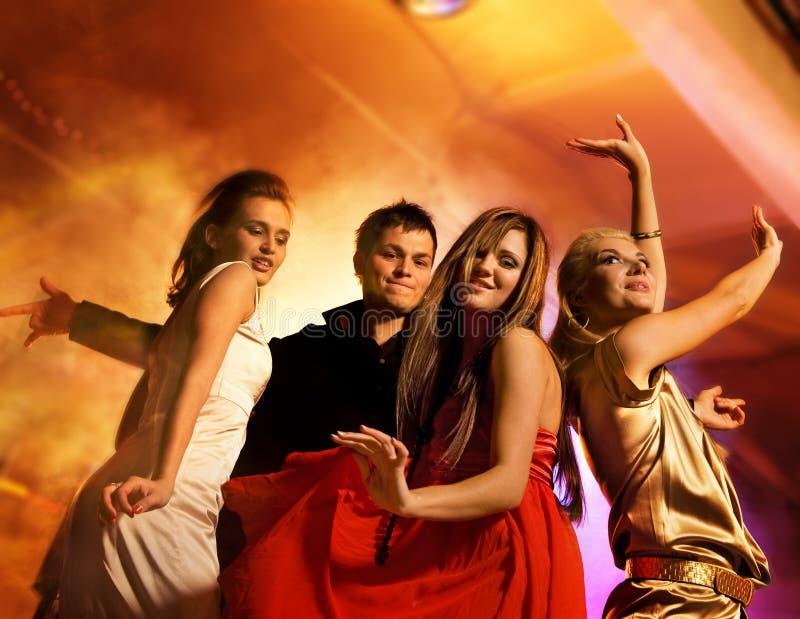 dancingowi ludzie zdjęcie royalty free