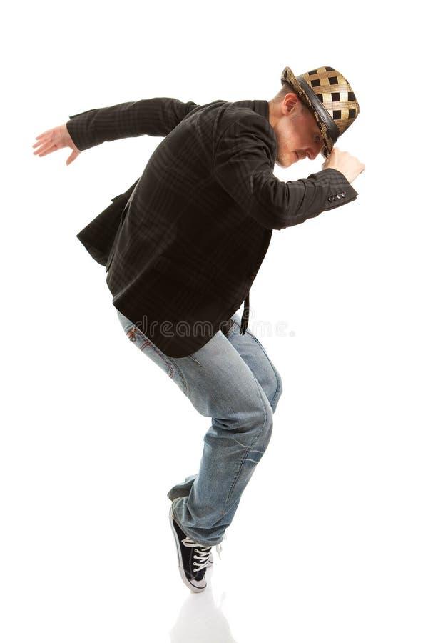 dancingowi mężczyzna obrazy royalty free