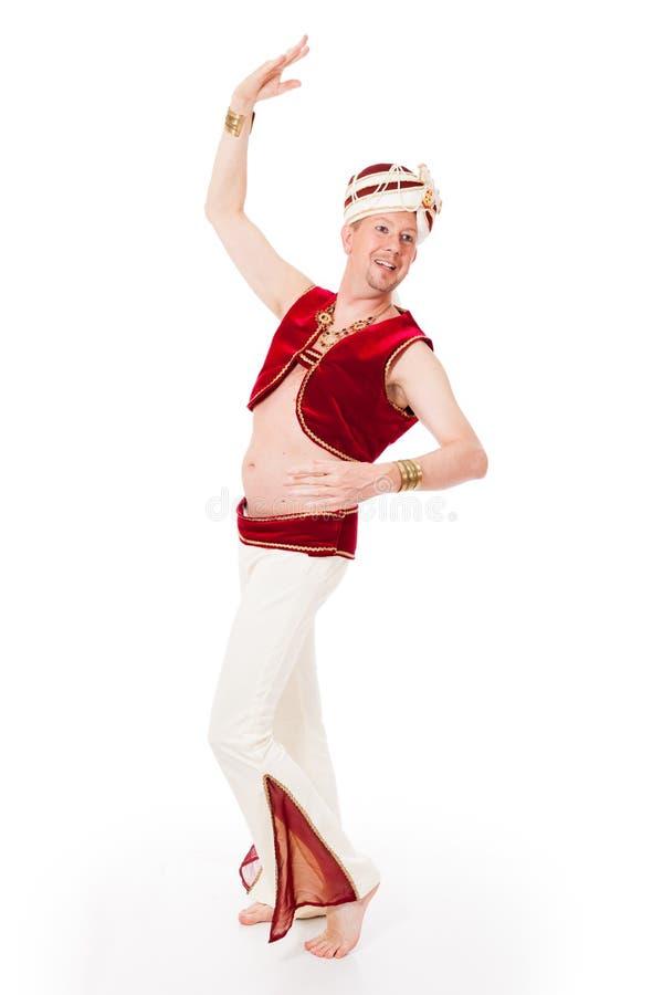 Dancingowi męscy krasnoludkowie obrazy royalty free
