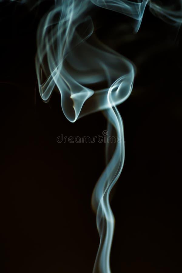 Dancingowy dym zdjęcie stock