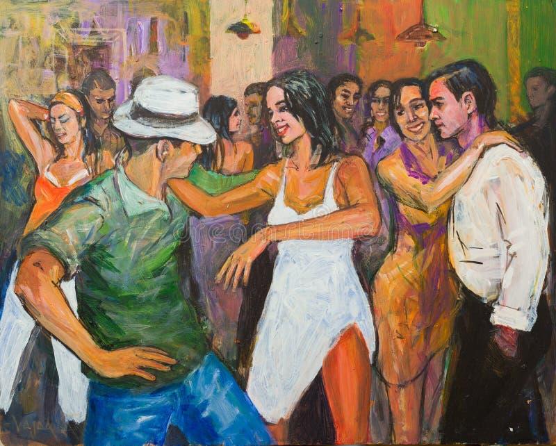 Dancingowy odtwarzanie obraz royalty free
