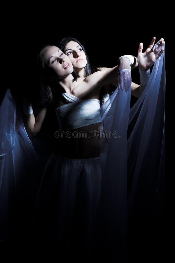 dancingowy semidarkness zdjęcie royalty free