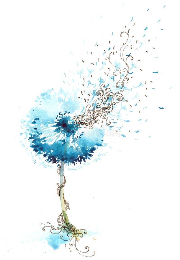 Dandelion ilustracji