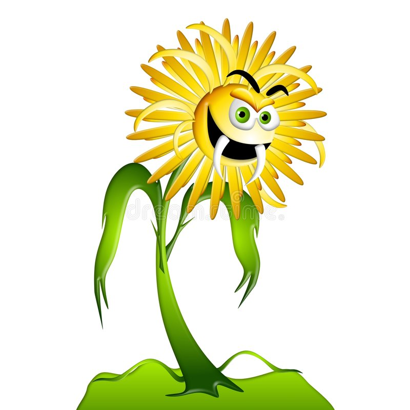 Free Dandelion Weed Allergy Monster 2 Stock Photos - 5372413