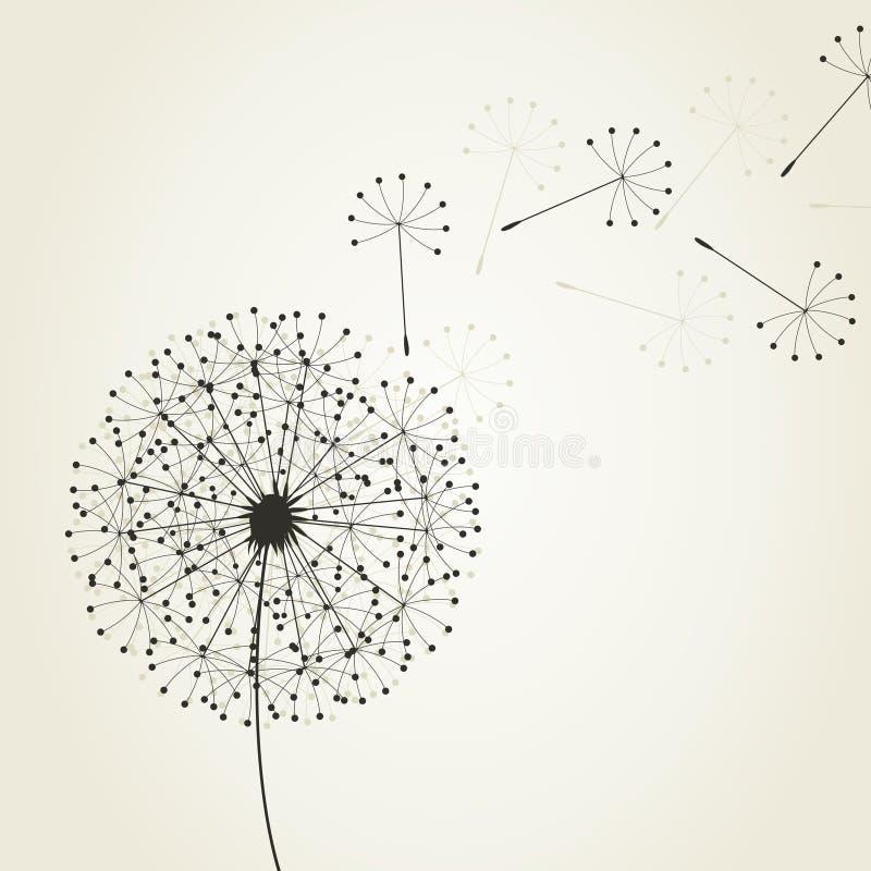Dandelion4 vektor abbildung