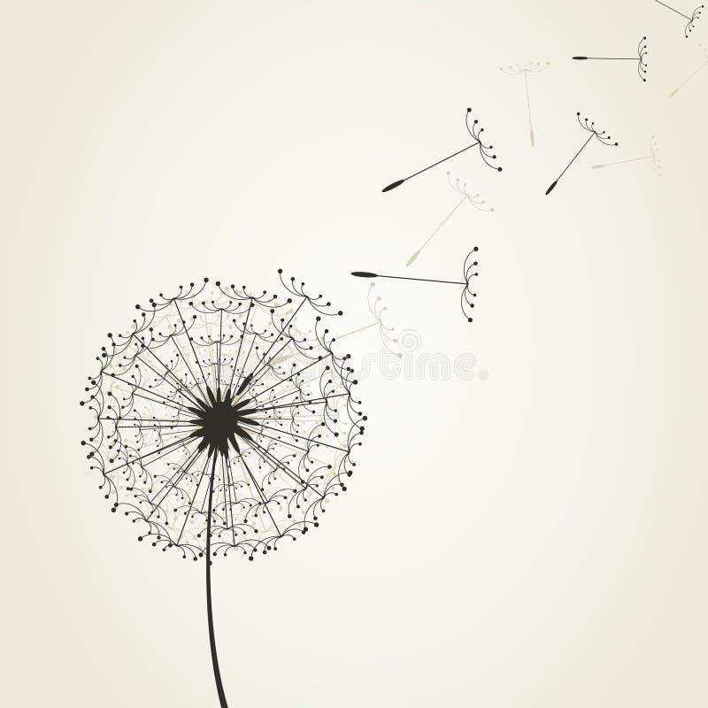 Dandelion7 stock illustratie
