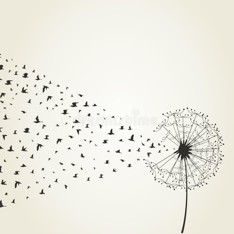 Dandelion9 illustration stock