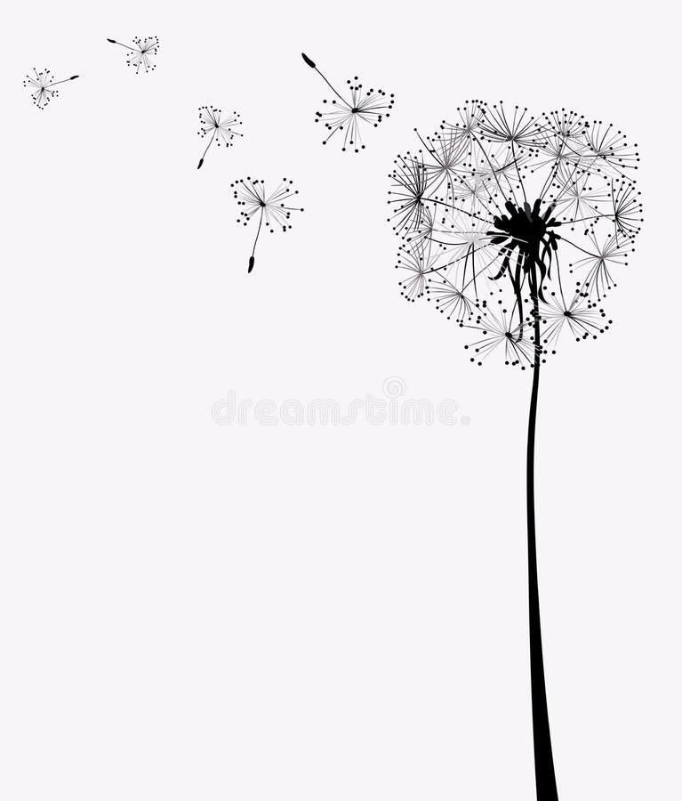 dandelions royalty ilustracja