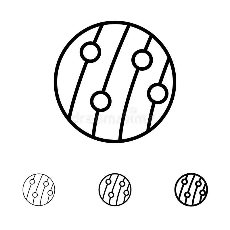 Dandruff, Włosiany Dandruff, skalpu Dandruff, skalp choroba, Seborrhea Dermatitis czerni linii ikony set, Śmiały i cienki royalty ilustracja