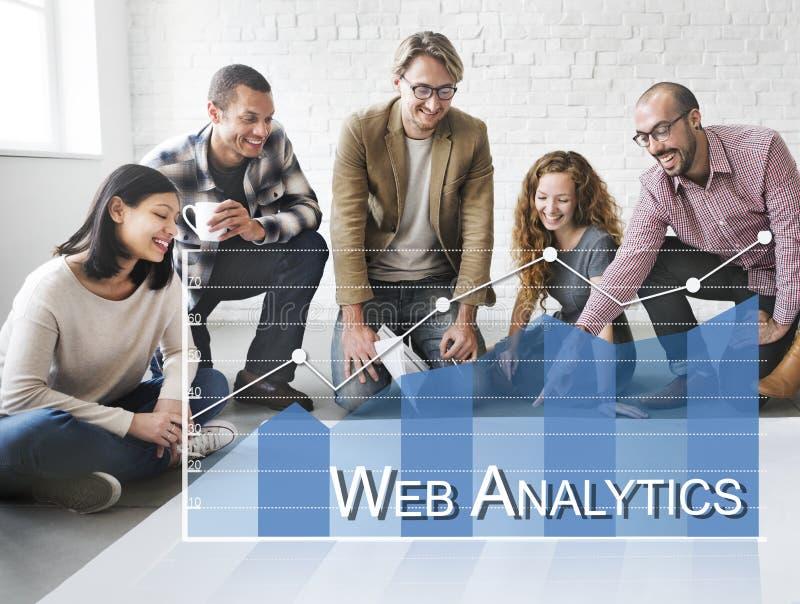 Dane analityka Online ankiety informacje zwrotne pojęcie zdjęcia royalty free