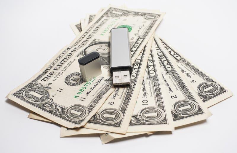 dane pieniądze zdjęcia stock