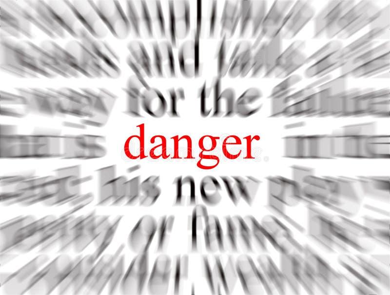 Danger ! ! illustration libre de droits