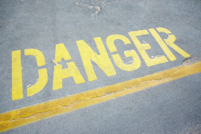 Danger Royalty Free Stock Image