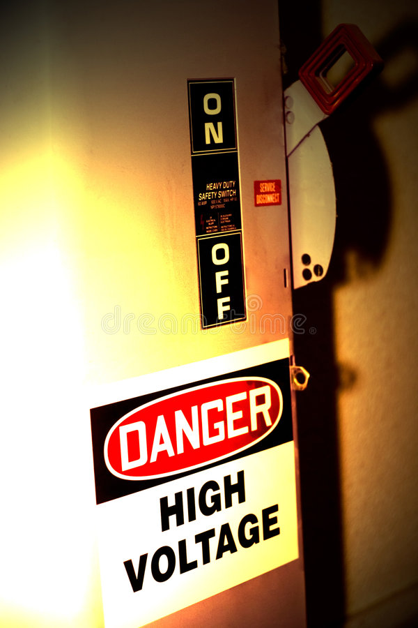Danger! royalty free stock image