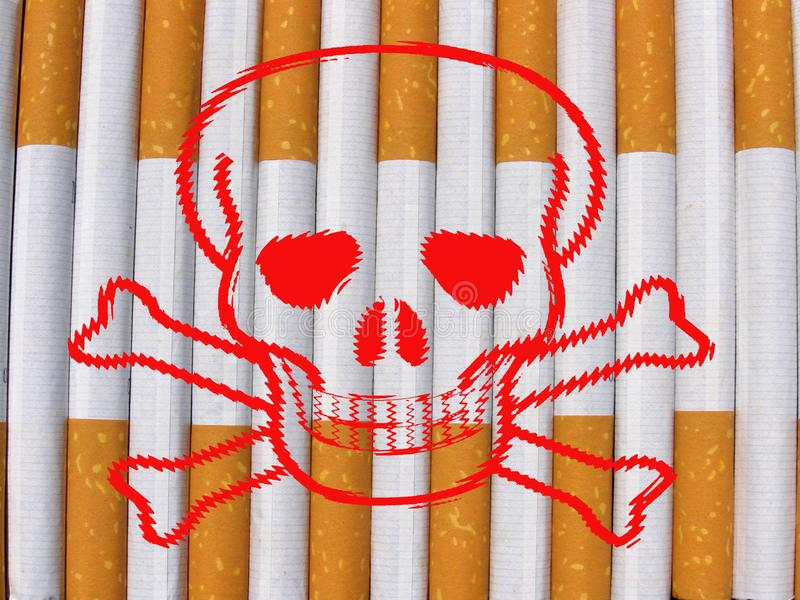 Download Danger cigarettes stock illustration. Illustration of background - 15834097