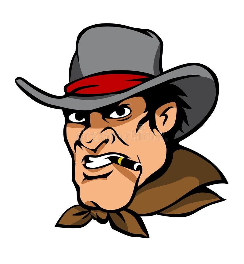 Download Danger cowboy stock vector. Illustration of clothes, ranch - 22954491