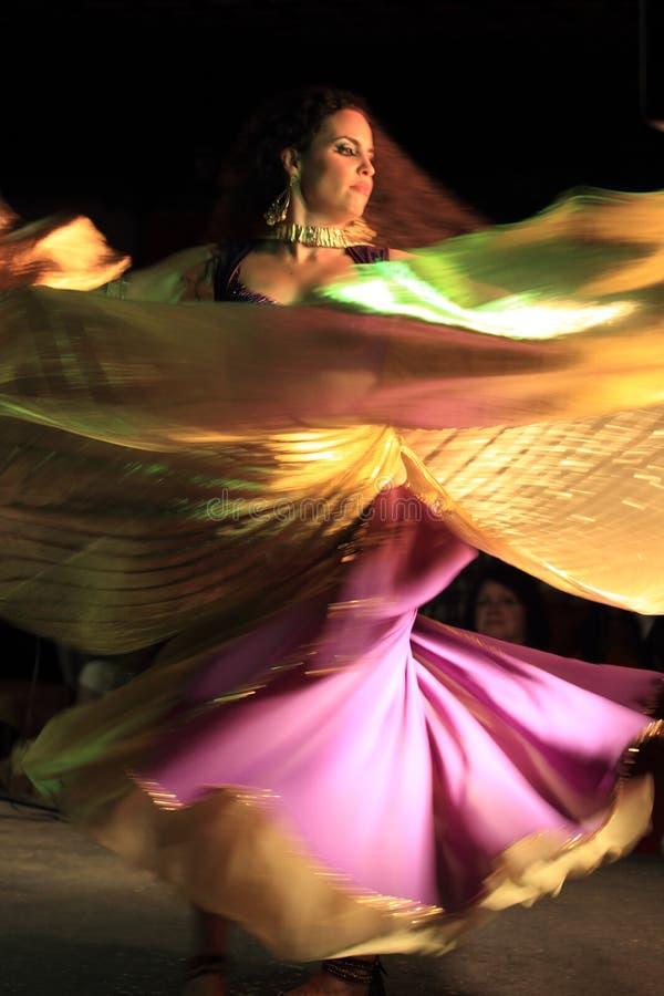 Danger de flamenco photographie stock libre de droits