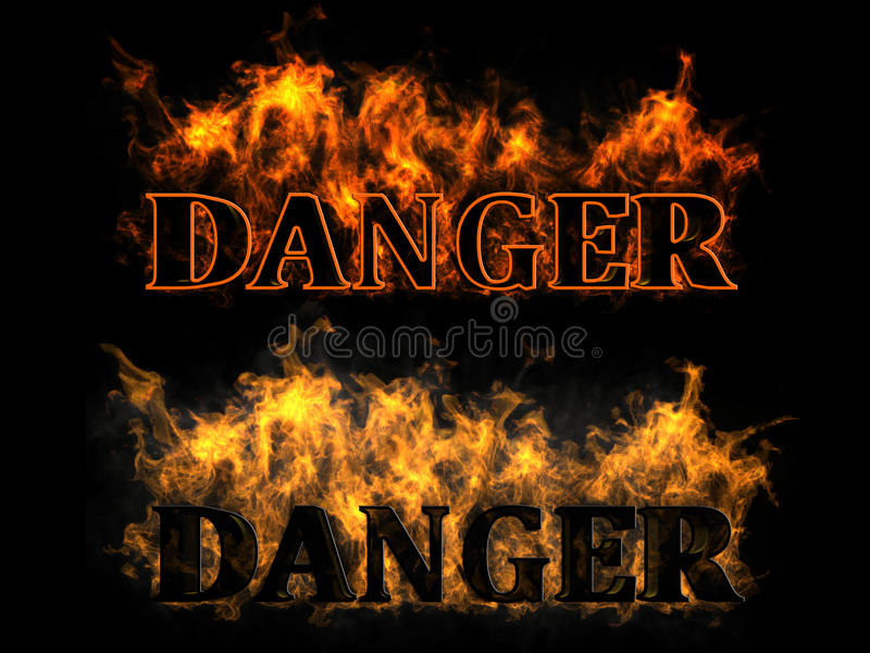 Download Danger In The Fire Stock Photos - Image: 23711803