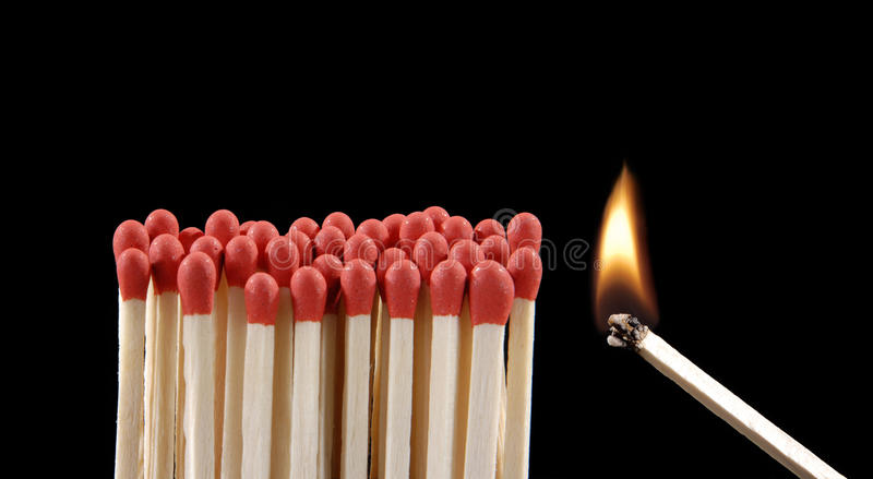 Download Danger fire. stock photo. Image of leadership, fire, ideas - 26494880