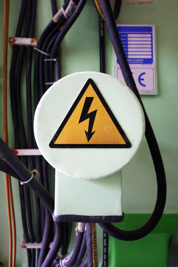 danger high voltage stock photography