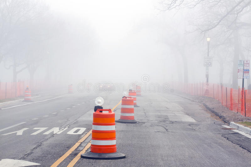 Download Danger on Road stock image. Image of light, development - 19116101