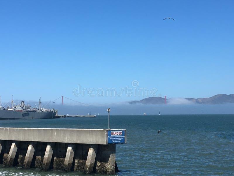 Danger, San Francisco, California, USA stock photos