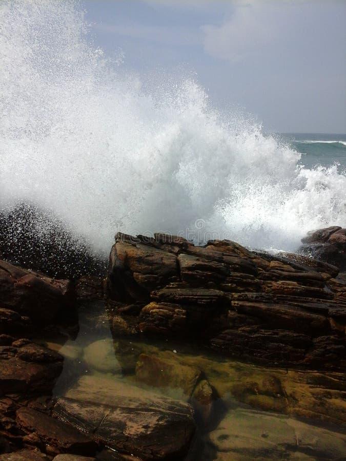 Danger sea royalty free stock photos