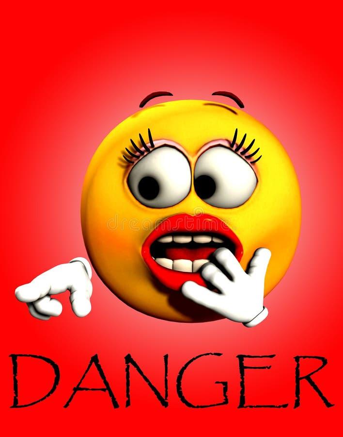 Download Danger Shock 2 stock illustration. Image of emotion, face - 5200088