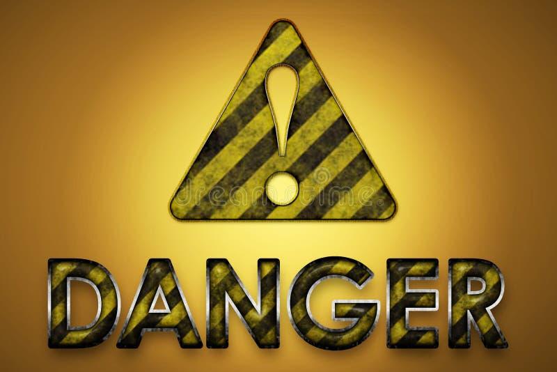 Danger Sign stock illustration